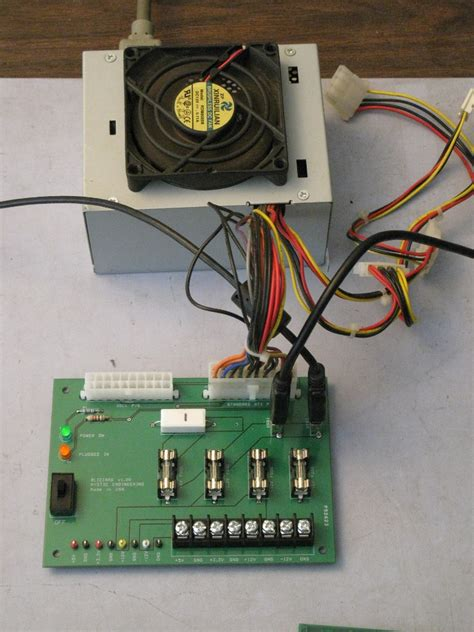 pc power supply as bench power supply use a pc power supply as a bench supply with the atx ps