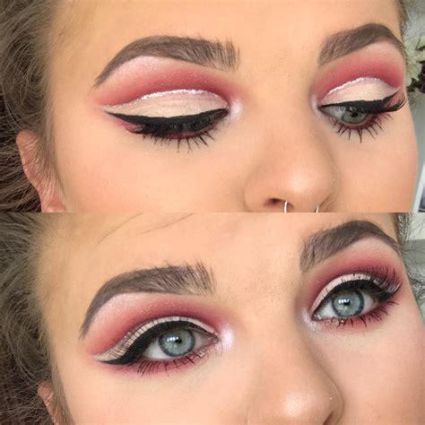 Cut Pink pink cut crease ccw makeupaddiction