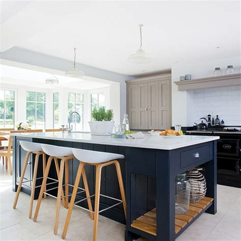 kitchen islands with stools kitchen island ideas ideal home