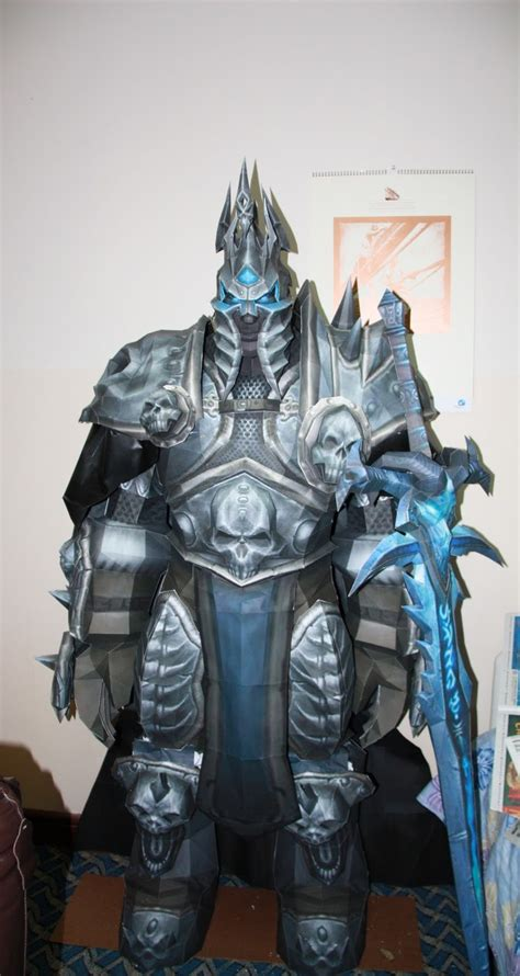 Wow Papercraft - lich king world of warcraft papercrafts ideas