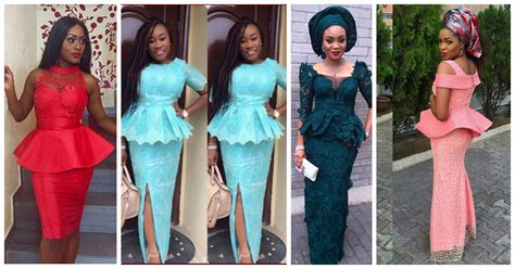 skirt and blouse asheobi peplum aso ebi look book series amillionstyles com