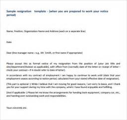 resignation email template resignation email template 5 free for pdf