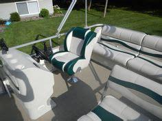 pontoon boat seat furniture ottoman refreshment table w cooler optional pontoon boat