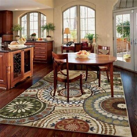 mohawk area rug carpet nylon multi large  dining