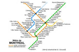 montreal canada metro map montreal subway map travel map vacations