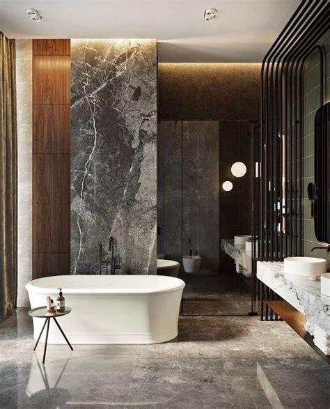 lieu bathroom ardoise au lieu du marbre et comptoir en bois avec ce