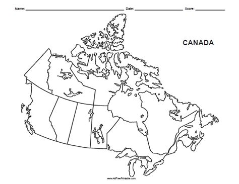 printable map of us and canada canada map printable printable maps