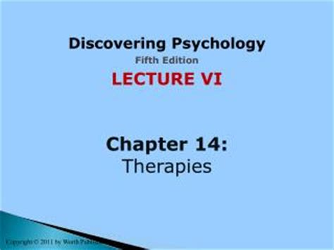 lectures on the psychology of fifth edition books ppt hockenbury and hockenbury discovering psychology
