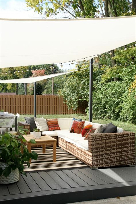 Diy Backyard Shade by Diy Shade Sails In The Backyard House Tweaking Bloglovin