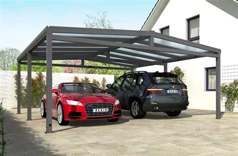 Alu Carport by Rexoport Alu Carport Bausatz 6 13m X 6 06m Rexoport Alu