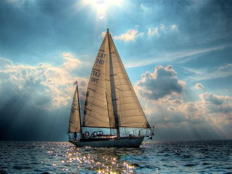 sailboat wallpaper 1600x1200 beautiful sail boat desktop pc and mac wallpaper