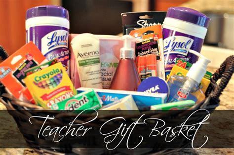 teacher gift basket teacher gift ideas on a budget