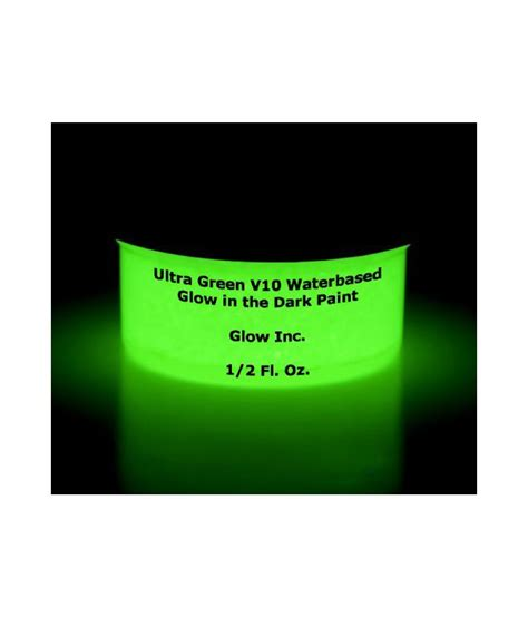 glow in the paint v10 ultra green glow v10 in the paint 1 2oz available at