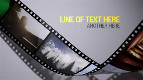 after effects free template film strip film strips after effects templates motion array