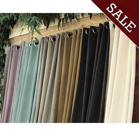 Outdoor Cabana Curtains Ballard Indoor Outdoor Curtain Outside Cabana Area Ruggedthug
