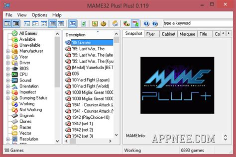 mame32 best mame32 plus plus best modified gui edition of mame