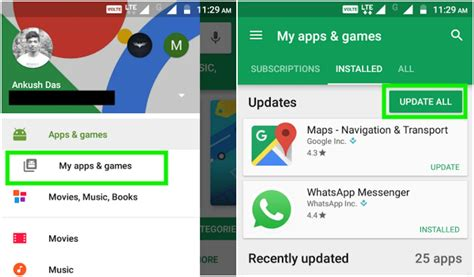 android how to update apps how to update your apps android iphone free