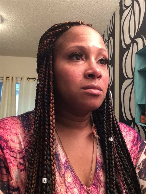 colored box braids 1000 ideas about colored box braids on 4c