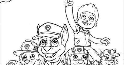 paw patrol coloring pages nick jr free nick jr paw patrol printable coloring page for kids