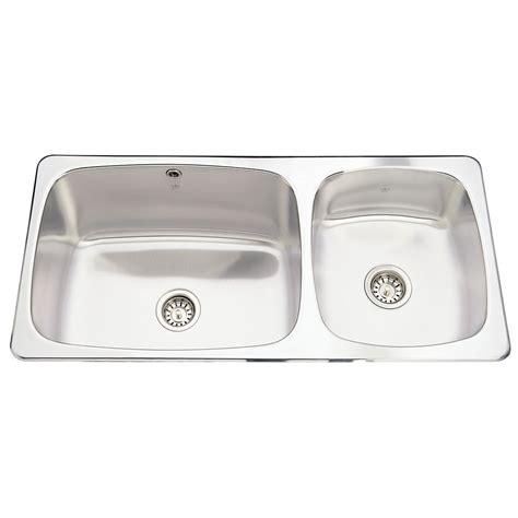 Discount Sinks 20 Ga Handfab Dm Single Sink 1 Drilling Qslf2020 12 1