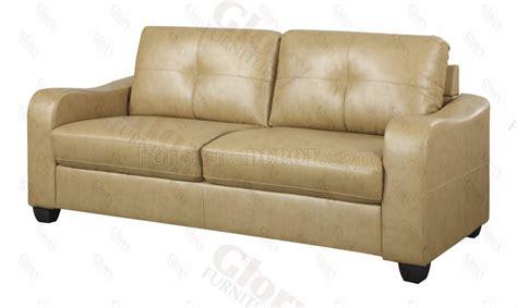 khaki sofa g607 sofa loveseat in khaki bonded leather w options by