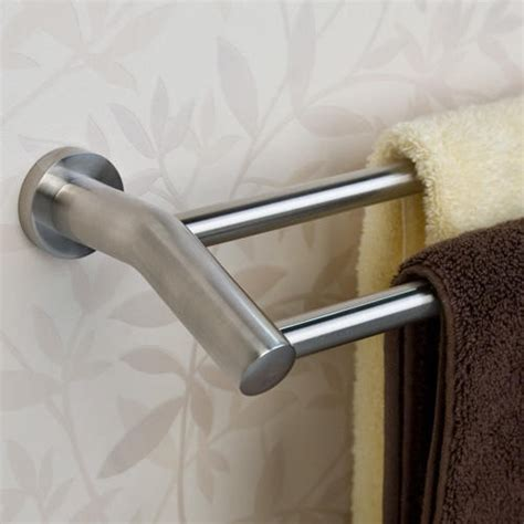 towel bar bathroom ceeley double towel bar towel holders bathroom