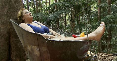 celebrity jungle elimination i m a celebrity rosemary shrager voted out of jungle in