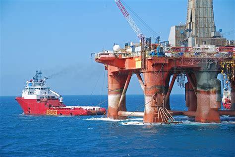 offshore drilling boats scotland s north sea oil revenues fall by 97