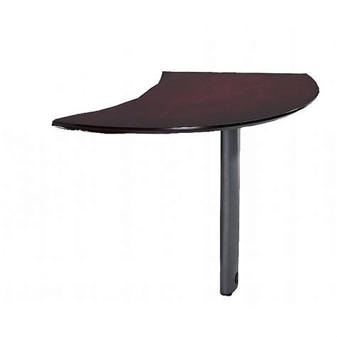 Desk Extensions by Napoli Curved Desk Extension Left