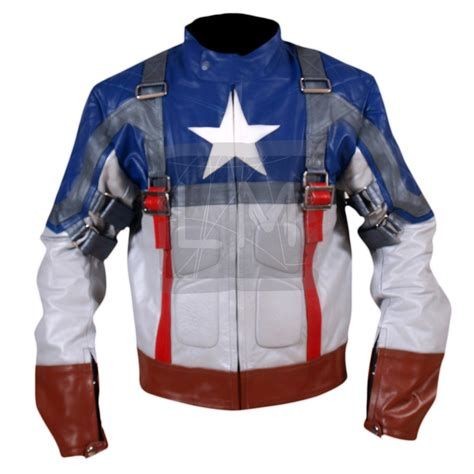 Jacket Captain America captain america buffalo leather jacket the