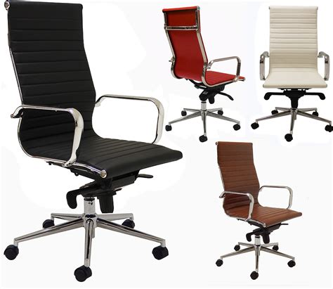 white modern desk chair modern classic high back office chair in stock free