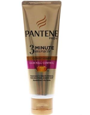Harga Pantene 3 Minute Miracle 70ml harga pantene conditioner hair fall 3 minute