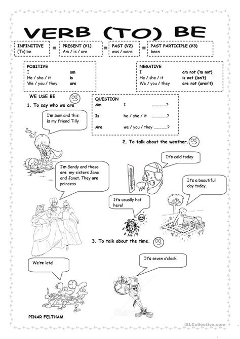 printable english worksheets verb to be verb to be worksheet free esl printable worksheets made