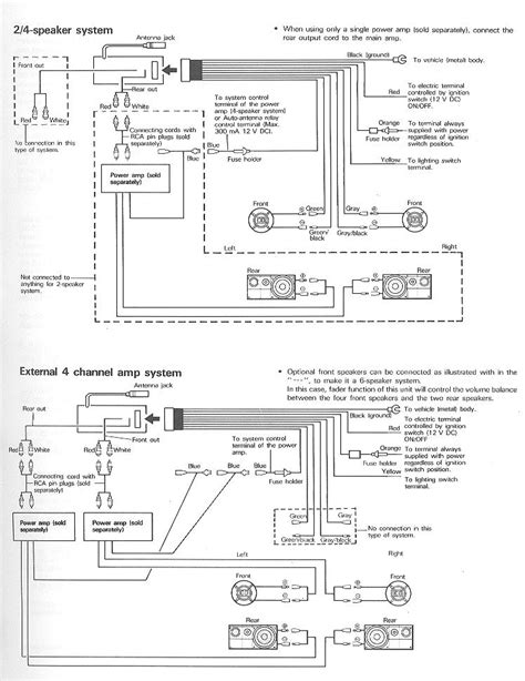 pioneer deh 4250sd wiring diagram wiring diagram and