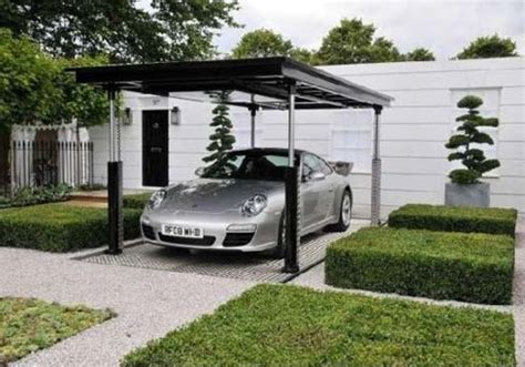 house car parking design idea for underground parking in an urban environment
