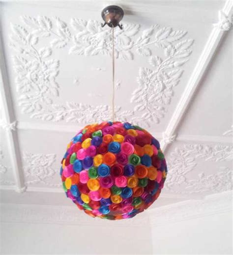 Creative Things To Make With Paper - lighting and decor with a twist from mel s creative designs