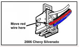 can brake controller wiring harness from a 2001 chevy tahoe fit a 2006 chevy silverado