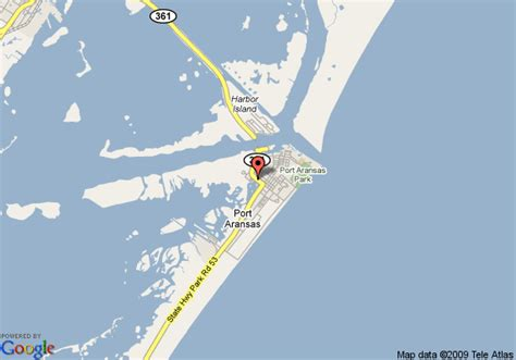 port aransas texas map map of port aransas tx travelodge port aransas