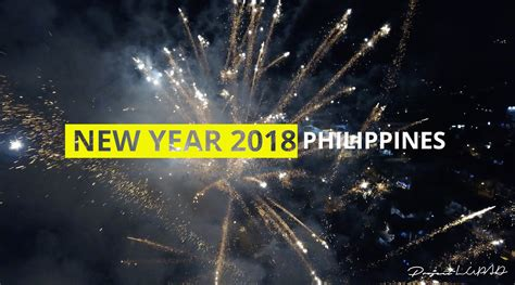 new year 2018 philippines happy new year 2018 philippines fireworks from