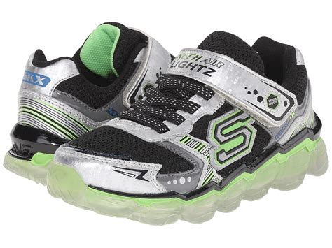 Skechers Equalizer Play 95488l Charcoal Black boys skechers shoes and boots