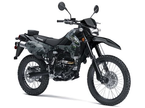 Motorrad Kawasaki 250 by 2018 Kawasaki Klx250 Look Fast Facts