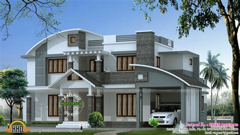 home design for 2500 sq ft contemporary mix house in 2500 sq ft kerala home design