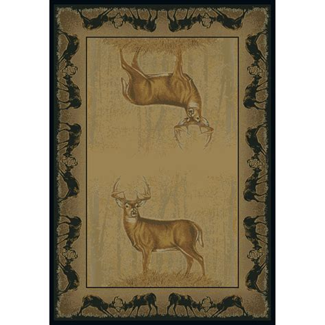 Deer Area Rugs Camouflage Area Rugs Believe Deer Rug Collection Camo Trading