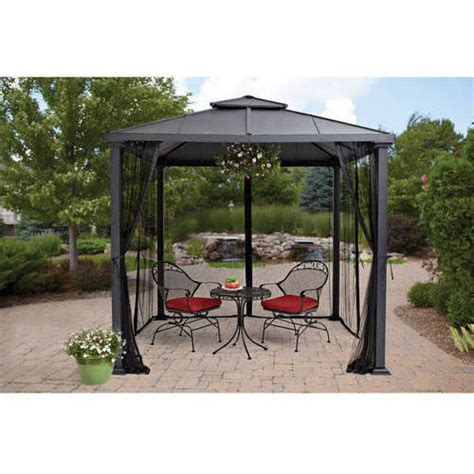 gazebo 8x8 better homes and gardens sullivan ridge top gazebo