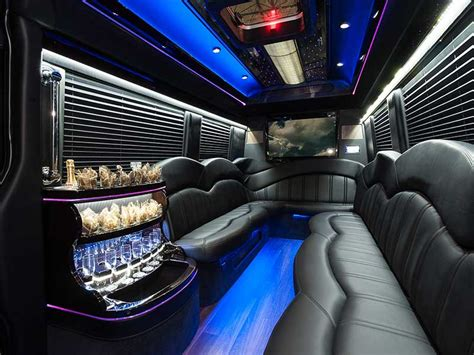 Mercedes Sprinter Interior by Rent A Mercedes Sprinter Limo In Boston