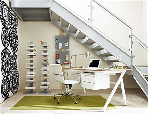 how to use the space under your stairs