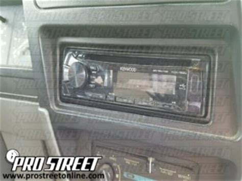 How To Ford Ranger Stereo Wiring Diagram My Pro