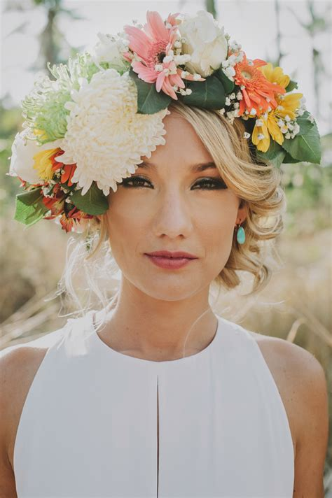 Thailand wedding tropical flower crown   Nouba   Thailand wedding tropical flower crown