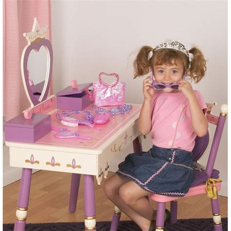 levels of discovery princess vanity table and chair set the levels of discovery princess vanity table and chair set