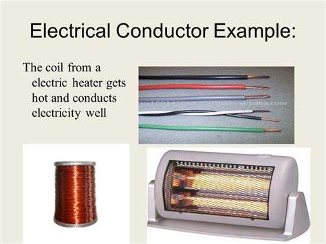 four electrical conductors conductors insulators ppt